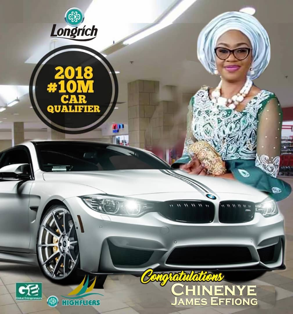 Longrich Nigeria - Car Award Winners - Star Directors 2