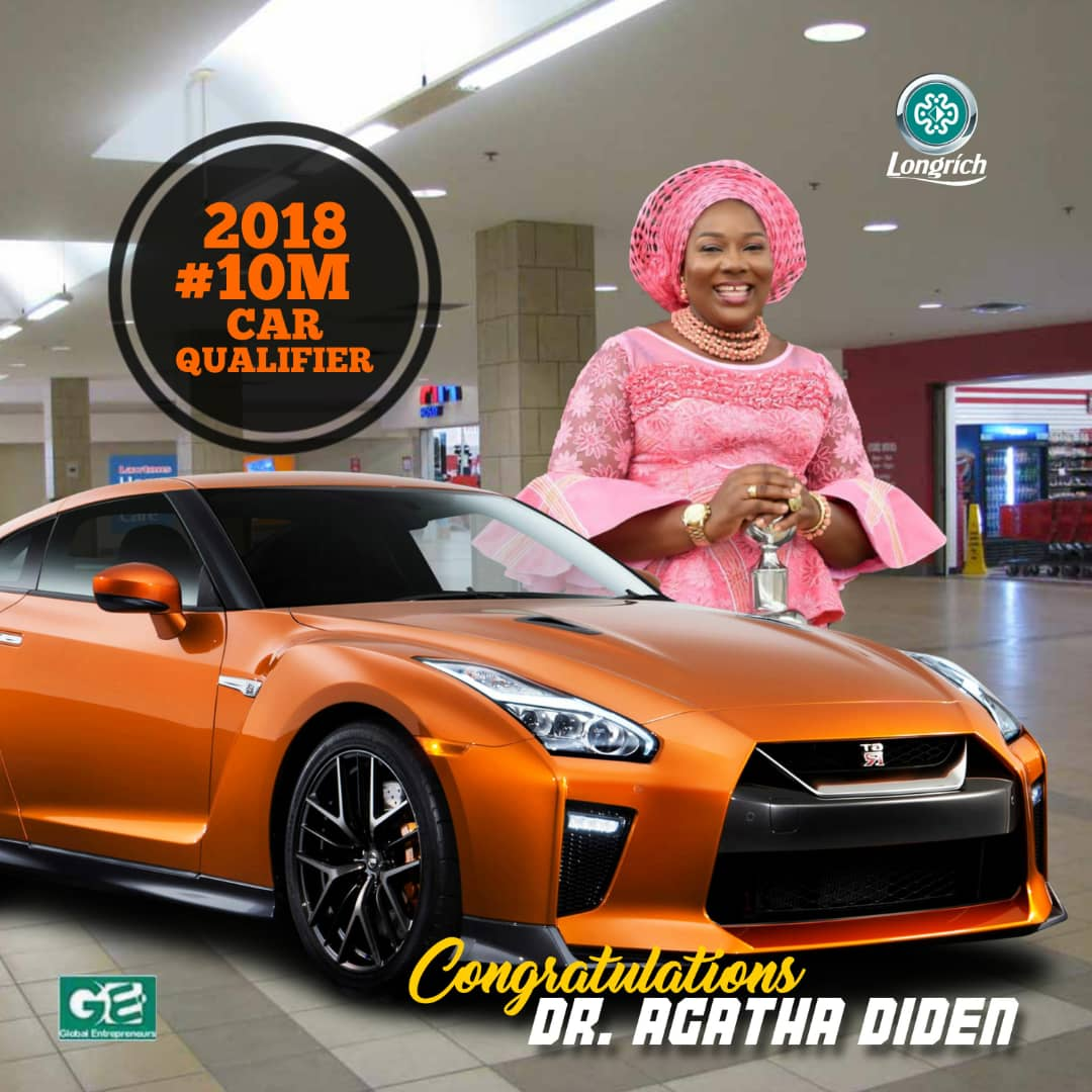 Longrich Nigeria - Car Award Winners - Star Directors 3