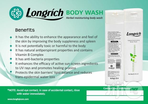 Longrich Nigeria - Products - Body Wash 1