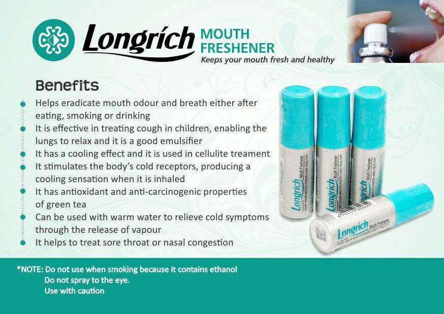 Longrich Nigeria - Products - Mouth Freshner 1
