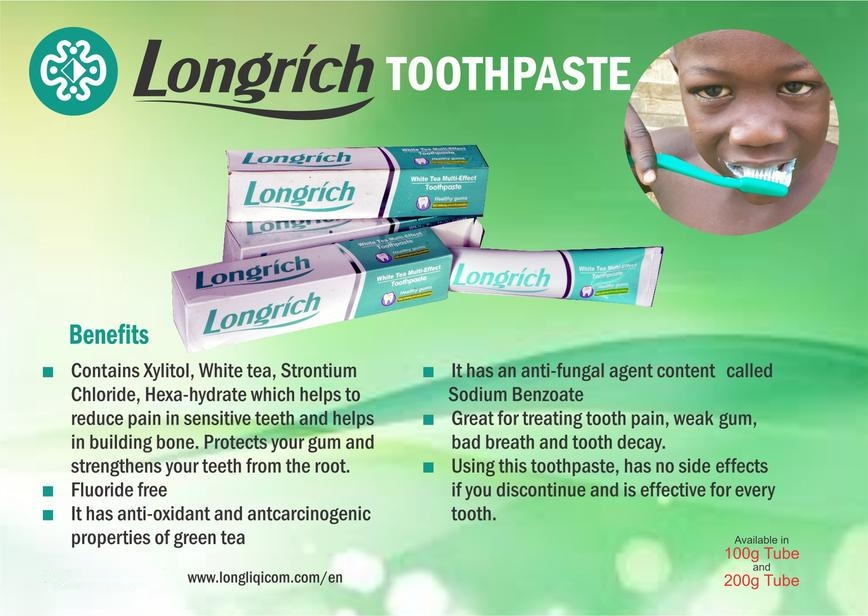 Longrich Nigeria - Products - Toothpaste 1