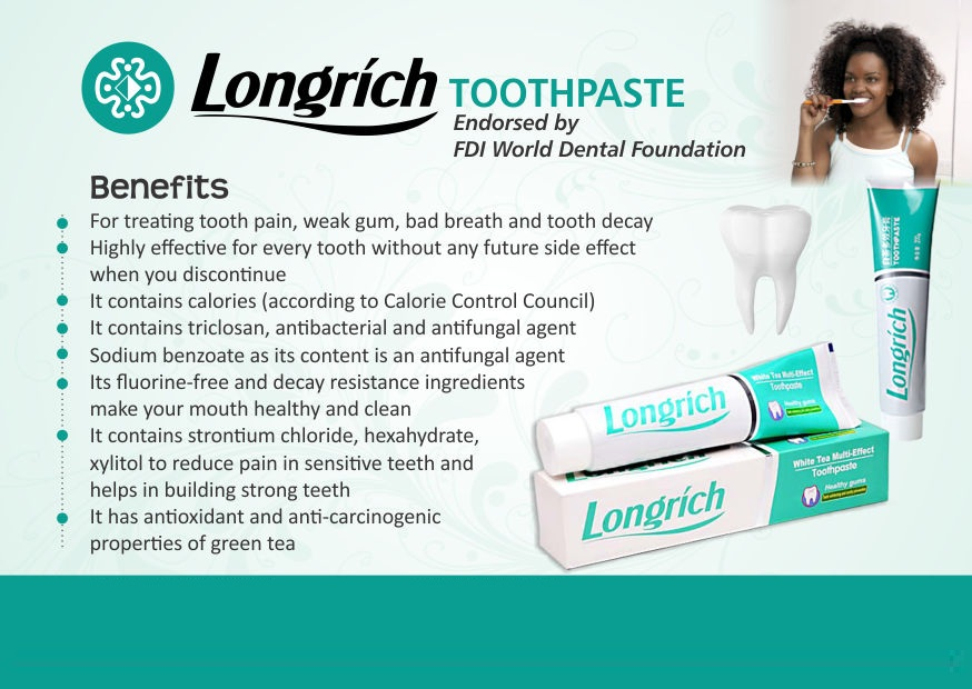 Longrich Nigeria - Products - Toothpaste 2