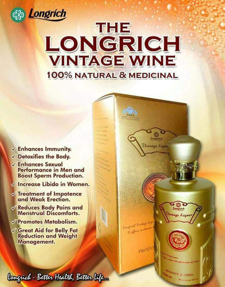 Longrich Nigeria - Products - Vintage Wine